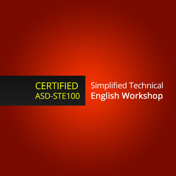 ASD-STE100 Simplified Technical English training workshop for individual writers in the UAE